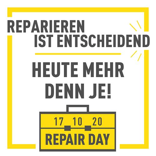 German 2020 Repair Day Pandemic Insta